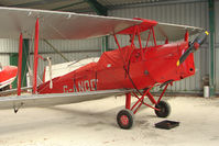 G-ANOO @ EGHA - 1942 Morris Motors Ltd DH82A TIGER MOTH at Compton Abbas base