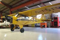 G-AGIV @ EGHA - 1944 Piper PIPER J3C-65  (ex 44-80380 )at Compton Abbas base
