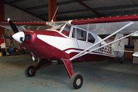 N6830B @ EGHA - Piper PA-22-150 at Compton Abbas base