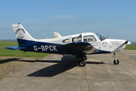 G-BPCK @ EGHA - 1980 Piper PIPER PA-28-161 at Compton Abbas base