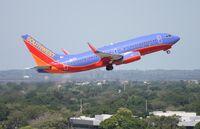 N414WN @ TPA - Southwest 737-700