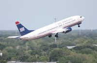 N424US @ TPA - US Airways 737-400