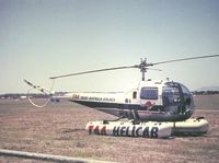 VH-THG @ YMMB - This photo was scanned from a slide taken on 20 Jan 1963 at Moorabbin airport. T It was used to shuttle passengers between Melbourne City heliport and Essendon airport.