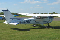G-BZBF @ EGTU - 1974 Cessna CESSNA 172M at Dunkeswell - by Terry Fletcher