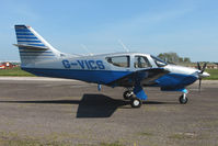 G-VICS @ EGTU - Rockwell 114B from Channel Islands at Dunkeswell