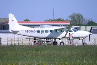 N208AD @ EGTU - Cessna 208B - jumping platform for the skydivers at Dunkeswell