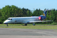 SX-CMB @ EGTE - Athens Airways EMB145 at Exeter