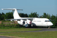 EC-JVJ @ EGTE - Stored RJ Avro at Exeter