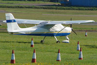 UNKNOWN @ EGTE - No visible registration on this Tecnam Echo at Exeter