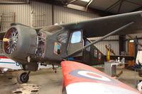 G-YYYY - 1960 Avions Max Holste AVIONS MAX HOLSTE MH 1521 C1, c/n: 208 at Eggesford - by Terry Fletcher