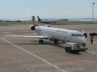 D-ACKK @ LFML - Canadair CRJ-900 - by Mathcab