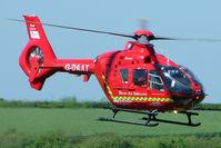 G-DAAT @ EGHU - 2003 Eurocopter Deutschland Gmbh EC135 T2 of Devon Air Ambulance at Eaglescott , Devon (UK) - by Terry Fletcher