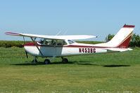 N453BG @ EGHU - Reims Aviation F172K at Eaglescott , Devon (UK) - by Terry Fletcher
