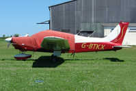 G-BTKX @ EGHU - 1978 Piper PIPER PA-28-181 at Eaglescott , Devon (UK) - by Terry Fletcher
