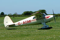 G-AGMI @ EGHU - 1941 Luscombe Airplane Corporation LUSCOMBE 8E at Eaglescott , Devon (UK) - visiting from Sussex