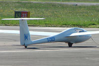 G-CKCB @ EGBJ - Glider at Staverton
