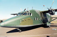83-0513 @ EGQL - C-23A Sherpa of the 10th Military Airlift Squadron on display at the 1989 RAF Leuchars Airshow. - by Peter Nicholson