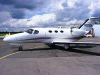N301DN @ EGSX - Cessna Aircraft Company - by Chris Hall