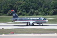N737US @ TPA - US Airways A319