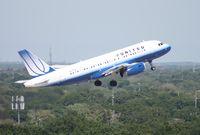 N817UA @ TPA - United A319