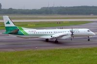 YR-SBK @ EDDL - SAAB 2000 [033] (Carpatair) Dusseldorf~D 27/05/2006. Seen taxing out for departure.
