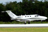 N888TF @ KLAL - Cessna Citation Mustang [510-0023] Lakeland-Linder~N 14/04/2010. Touching down Sun & Fun 2010.