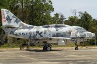 145077 @ KNPA - Parked in the storage area of the National Museum of Naval Aviation. Named Arctic Warrior.