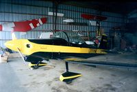 N6802X @ N57 - Bushby (Copeland) Mustang II at the Colonial Flying Corps Museum, Toughkenamon PA