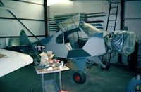 N26197 @ N57 - Piper J3L-65 Cub (being restored) at New Garden airport, Toughkenamon PA