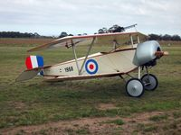 10-1968 @ YMEL - Nieuport 11 Replica at Melton Airshow - by red750