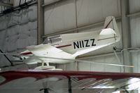 N11ZZ - Nicks Special LR-1A at the New England Air Museum, Windsor Locks CT