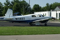 N1145T @ I19 - 1981 Mooney M20J - by Allen M. Schultheiss