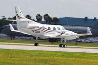 YV2021 @ LAL - Departing at Lakeland, Florida during Sun N Fun 2010. - by Bob Simmermon