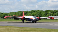 G-BVXC @ X3BR - 3. WT333 taxying at Bruntingthorpe Cold War Jets Open Day - May 2010