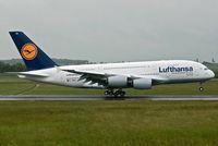 D-AIMA @ LOWW - First A380 at Vienna - by Basti777
