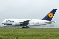 D-AIMA @ LOWL - Lufthansa Airbus A380-841 to touch down in LOWL/LNZ - by Janos Palvoelgyi