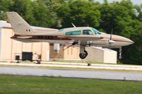 XB-LKA @ LAL - Arriving at Lakeland, Florida during Sun N Fun 2010. - by Bob Simmermon