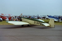 G-APBO @ EGDY - At RNAS Yeovilton Air Day in 2002. - by Roger Winser