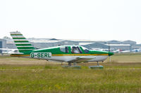 G-SERL @ EGKA - Shoreham Airport, West Sussex - by John Pitty