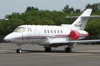 N666NF @ EGLK - Hawker Beechcraft Corp HAWKER 750, c/n: HB-27 at Blackbushe