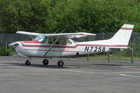 N7258 @ EGLK - 1980 Cessna 172RG, c/n: 172RG-0508 at Blackbushe