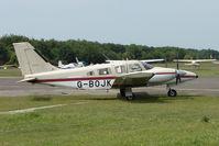 G-BOJK @ EGLK - 1986 Piper PIPER PA-34-220T, c/n: 3433020 at Blackbushe