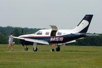 N41518 @ EGLD - 2000 Piper PA 46-350P, c/n: 46-36302 at Denham