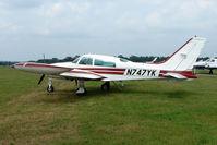 N747YK @ EGLD - 1975 Cessna 310R, c/n: 310R0138 at Denham