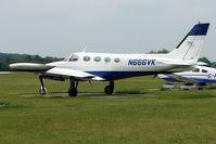N666VK @ EGLD - Cessna 340A, c/n: 340A-0345 at Denham