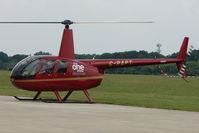 G-RAPT @ EGLD - 2009 Robinson R44 Raven II, c/n: 1291 at Denham