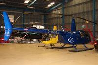 G-CCWJ @ EGLD - 2004 Robinson Helicopter Co Inc ROBINSON R44 II, c/n: 10363 at Denham