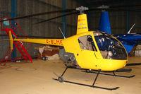 G-BLME @ EGLD - 1980 Robinson Helicopter Co Inc ROBINSON R22, c/n: 0032 at Denham