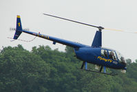 G-PIXX @ EGLD - 2004 Robinson Helicopter Co Inc ROBINSON R44 II, c/n: 10263 at Denham