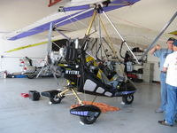N117RL @ SZP - 1995 Airborne Windsports Pty Ltd EDGE, Rotax 582UL DCDI two-stroke two cylinder 65 Hp pusher, weight-shift control Experimental Light Sport aircraft - by Doug Robertson